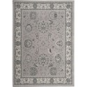 "Nourison Maymana 9'3"" x 12'9"" Silver Area Rug - Item Number: 28103"