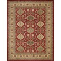 "Nourison Maymana 7'10"" x 10'10"" Red Area Rug - Item Number: 28118"