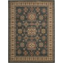 "Nourison Maymana 5'3"" x 7'4"" Midnight Area Rug - Item Number: 28144"