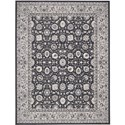"Nourison Maymana 3'9"" x 5'9"" Charcoal Area Rug - Item Number: 28159"
