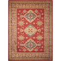 "Nourison Maymana1 3'9"" X 5'9"" Red Rug - Item Number: MYN01 RED 39X59"