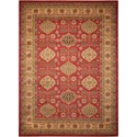 "Nourison Maymana1 3'9"" X 5'9"" Red Rug - Item Number: MYN08 RED 39X59"