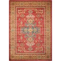 "Nourison Maymana1 9'3"" X 12'9"" Red Rug - Item Number: MYN11 RED 93X129"