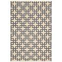 "Nourison Maze Area Rug 7'9"" X 10'10"" - Item Number: 12761"