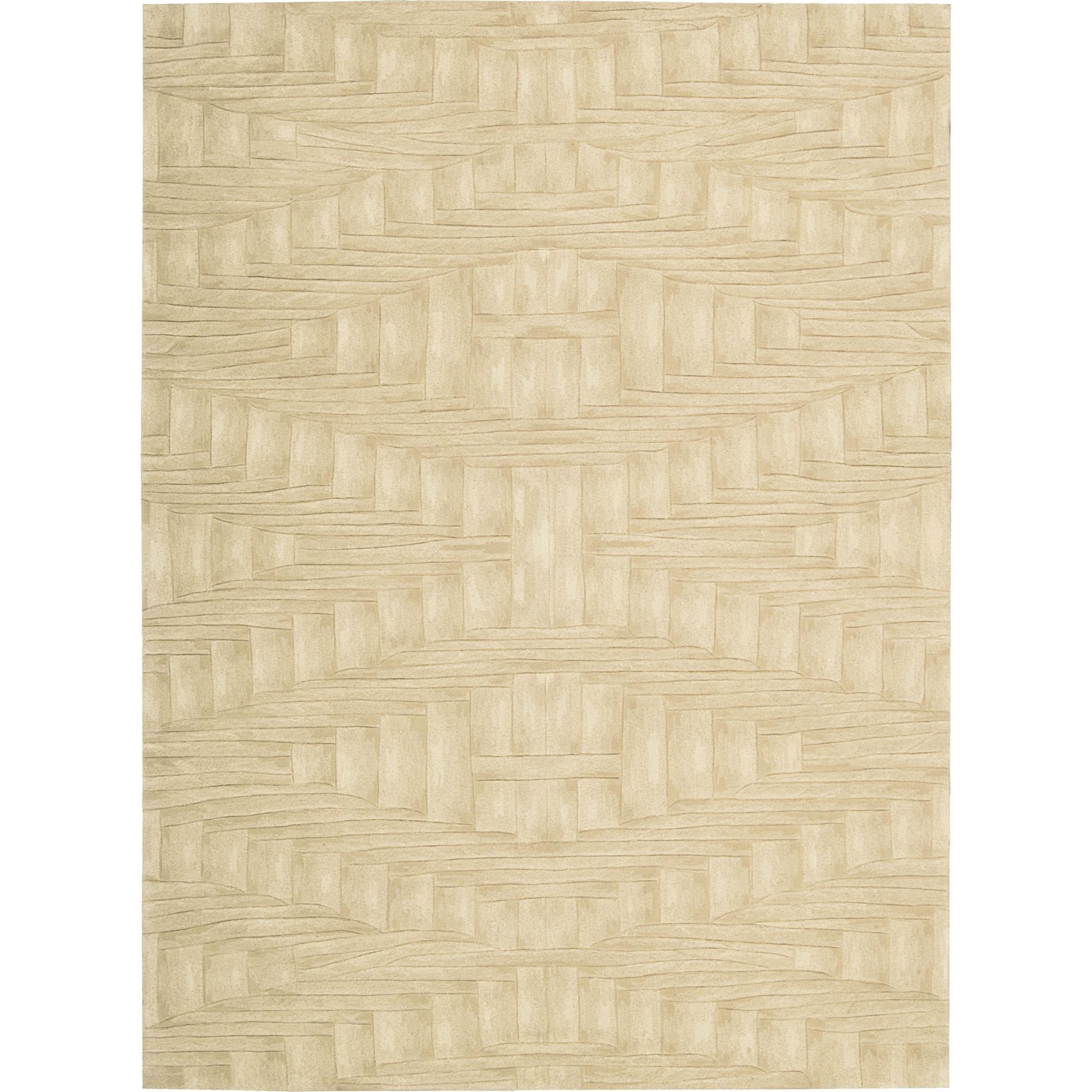 "Nourison Moda 5'6"" x 7'5"" Shell Area Rug - Item Number: 00039"