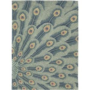 Nourison Moda 8' x 11' Peacock Area Rug