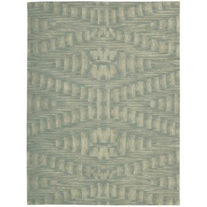 "Nourison Moda 9'6"" x 13'6"" Breeze Rectangle Rug"