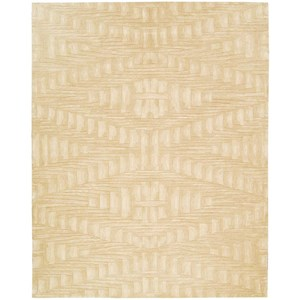 "Nourison Moda 9'6"" x 13'6"" Shell Rectangle Rug"