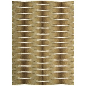 "Nourison Moda 7'6"" x 9'6"" Khaki Rectangle Rug"