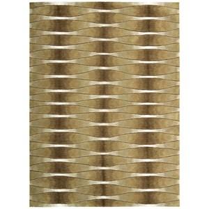 8' x 11' Khaki Rectangle Rug