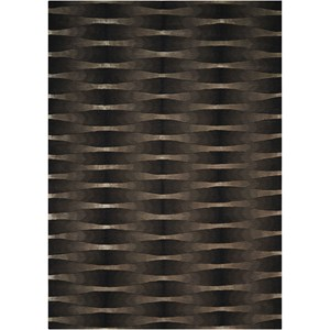 "Nourison Moda 3'6"" x 5'6"" Onyx Rectangle Rug"