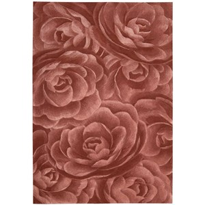 "Nourison Moda 9'6"" x 13'6"" Blush Rectangle Rug"