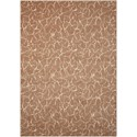 "Nourison Nepal 5'3"" x 7'5"" Fawn Rectangle Rug - Item Number: NEP01 FAWN 53X75"