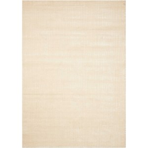"Nourison Nepal 7'9"" x 10'10"" Bone Rectangle Rug"