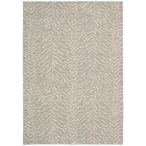 "Nourison Nepal 5'3"" x 7'5"" Quartz Rectangle Rug"