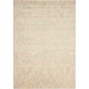 "Nourison Nepal 5'3"" x 7'5"" Bone Rectangle Rug"