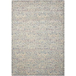 "Nourison Nepal 7'9"" x 10'10"" Multicolor Rectangle Rug"