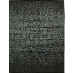 "Nourison Nightfall 9'9"" x 13'9"" Hunter Green Area Rug"