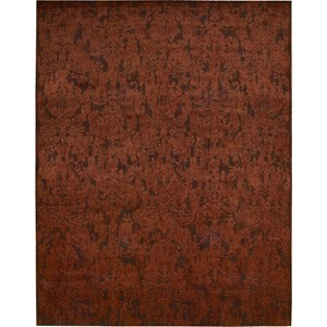 "Nourison Nightfall 5'6"" x 8' Brick Area Rug"