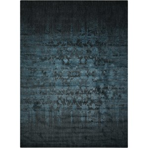 "Nourison Nightfall1 8'6"" X 11'6"" Hunter Green Rug"