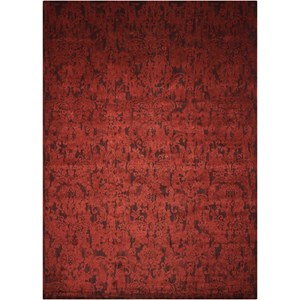 "Nourison Nightfall1 5'6"" X 8' Brick Rug"