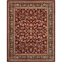 Nourison Nourison 2000 12' x 15' Burgundy Rectangle Rug - Item Number: 2002 BUR 12X15