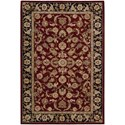 "Nourison Nourison 2000 3'9"" x 5'9"" Burgundy Rectangle Rug - Item Number: 2002 BUR 39X59"