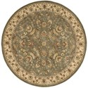 Nourison Nourison 2000 6' x 6' Olive Round Rug - Item Number: 2003 OLI 6X6