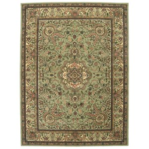 "Nourison Nourison 2000 8'6"" x 11'6"" Light Green Rectangle Rug"