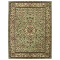 "Nourison Nourison 2000 9'9"" x 13'9"" Light Green Rectangle Rug - Item Number: 2005 LTG 99X139"