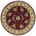 Nourison Nourison 2000 6' x 6' Lacquer Round Rug - Item Number: 2022 LAC 6X6