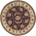 Nourison Nourison 2000 6' x 6' Lavender Round Rug - Item Number: 2022 LAV 6X6