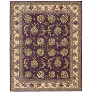 "Nourison Nourison 2000 8'6"" x 11'6"" Lavender Rectangle Rug"
