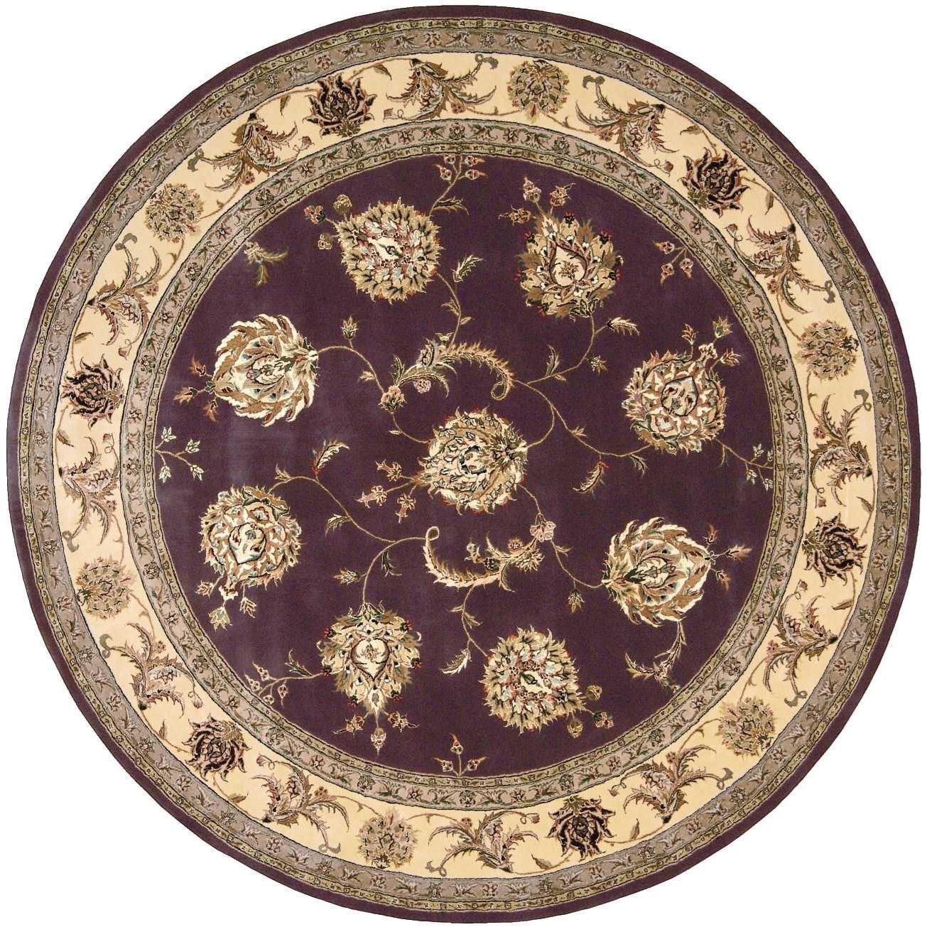 8' x 8' Lavender Round Rug