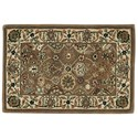 Nourison Nourison 2000 2' x 3' Mushroom Rectangle Rug - Item Number: 2091 MSH 2X3