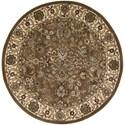 Nourison Nourison 2000 4' x 4' Mushroom Round Rug - Item Number: 2091 MSH 4X4