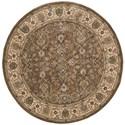 Nourison Nourison 2000 6' x 6' Mushroom Round Rug - Item Number: 2091 MSH 6X6