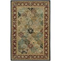 "Nourison Nourison 2000 5'6"" x 8'6"" Multicolor Rectangle Rug - Item Number: 2101 MTC 56X86"