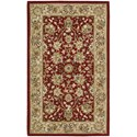 "Nourison Nourison 2000 2'6"" x 4'3"" Burgundy Rectangle Rug - Item Number: 2107 BUR 26X43"