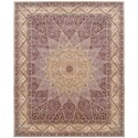 Nourison Nourison 2000 12' x 15' Lavender Rectangle Rug - Item Number: 2117 LAV 12X15