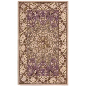 "Nourison Nourison 2000 2'6"" x 4'3"" Lavender Rectangle Rug"
