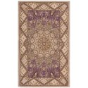 "Nourison Nourison 2000 2'6"" x 4'3"" Lavender Rectangle Rug - Item Number: 2117 LAV 26X43"