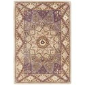 Nourison Nourison 2000 2' x 3' Lavender Rectangle Rug - Item Number: 2117 LAV 2X3