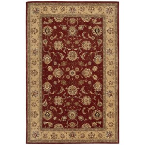 "Nourison Nourison 2000 7'9"" x 9'9"" Brick Rectangle Rug"