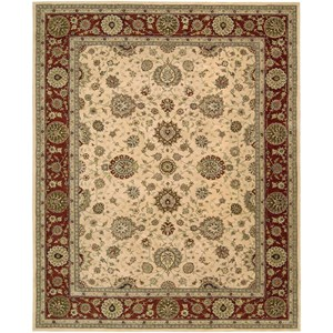 "Nourison Nourison 2000 9'9"" x 13'9"" Ivory Rectangle Rug"