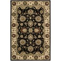 "Nourison Nourison 2000 3'9"" x 5'9"" Midnight Rectangle Rug - Item Number: 2204 MID 39X59"