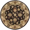 Nourison Nourison 2000 4' x 4' Midnight Round Rug - Item Number: 2204 MID 4X4
