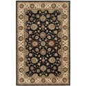 "Nourison Nourison 2000 5'6"" x 8'6"" Midnight Rectangle Rug - Item Number: 2204 MID 56X86"
