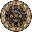 Nourison Nourison 2000 6' x 6' Midnight Round Rug - Item Number: 2204 MID 6X6