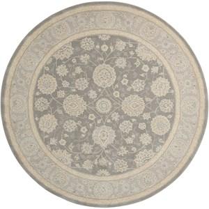 Nourison Nourison 2000 6' x 6' Slate Round Rug
